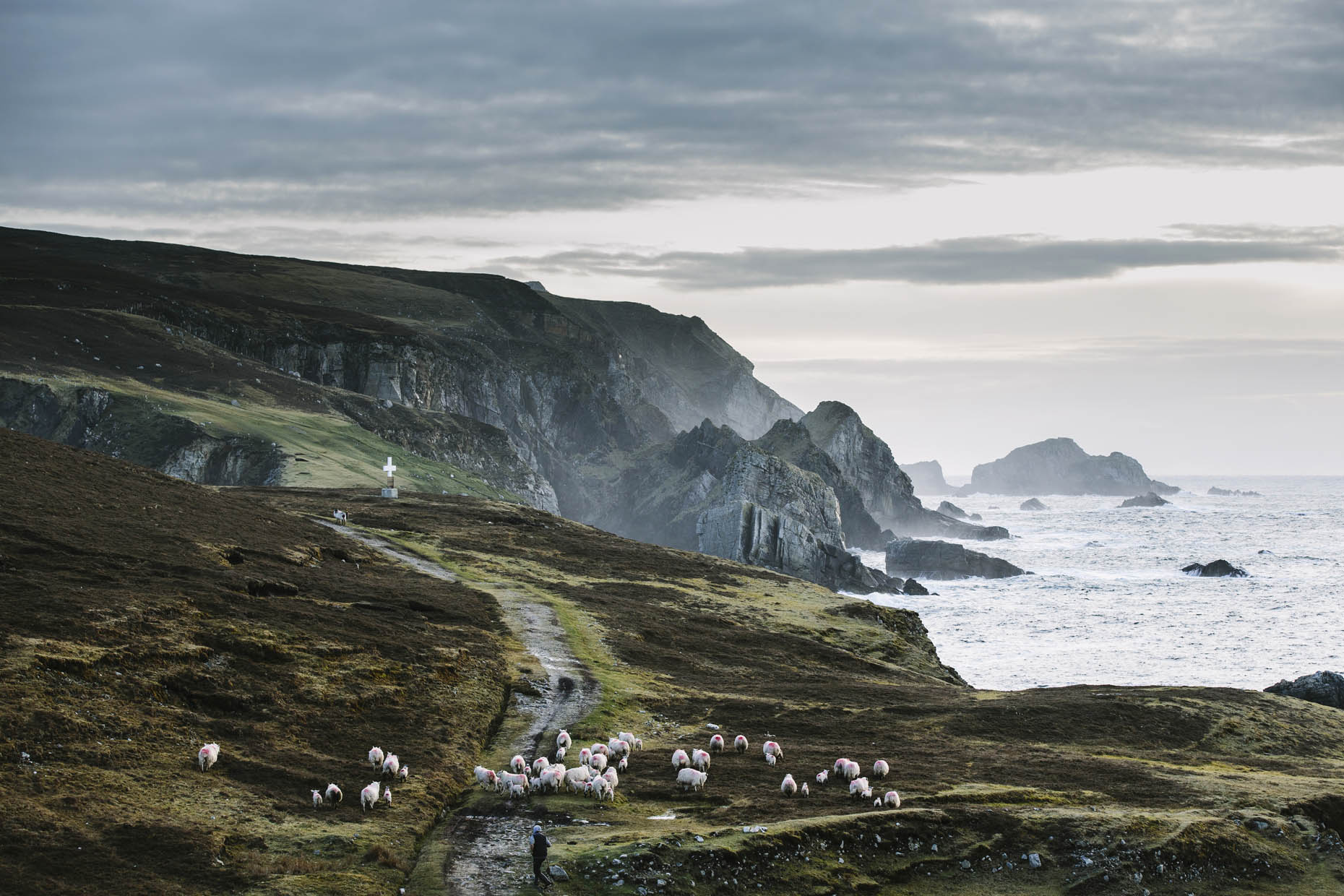 Adventure Tourism along the Wild Atlantic Way in Donegal, Ireland